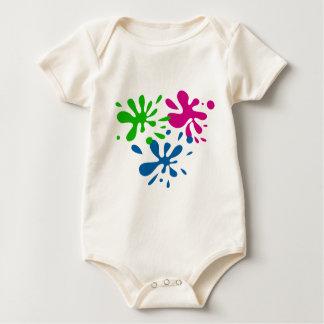 Splats al azar body para bebé
