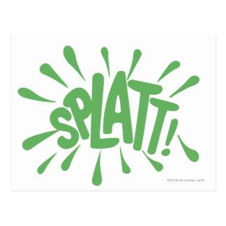 SPLATT! POSTCARD