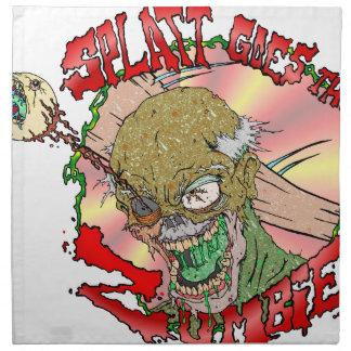 Splatt va el zombi servilletas de papel