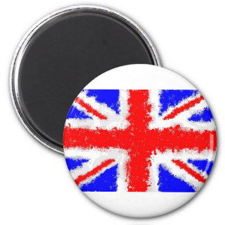 Splatta Union Jack 2 Inch Round Magnet