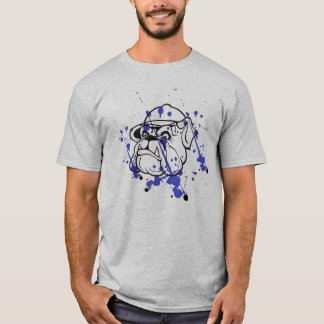 Splatted Bulldog mens t-shirt