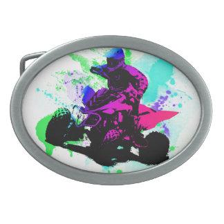 Splatter Belt Buckle