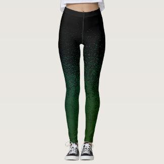 Splatter Blue/Green Leggings