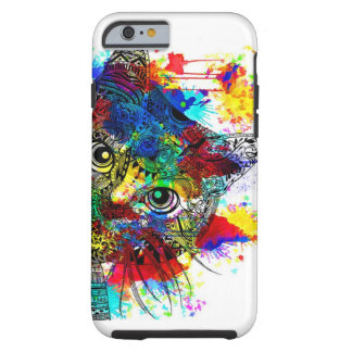 Splatter Cat For the iPhone 6/6s Tough iPhone 6 Case