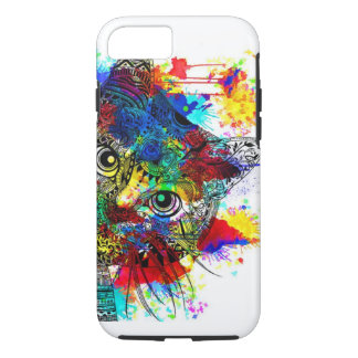 Splatter Cat For the iPhone 7 iPhone 7 Case