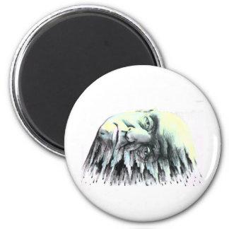 Splatter Head Magnet