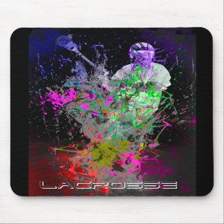 splatter lacrosse mouse pad