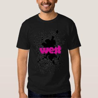 Splatter logo T Tee Shirt