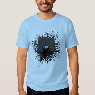 Splatter on Light Mens T Shirt