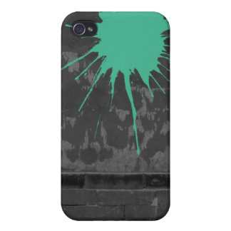 splatter on wall covers for iPhone 4