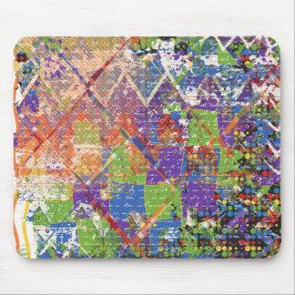 Splatter Paint Colorful Mouse Pad