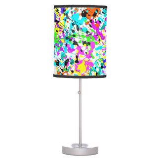 Splatter Paint Desk Lamp