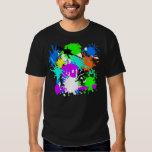 Splatter paintball shirt playera
