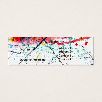 Splatter Profile Card