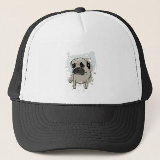 Splatter Pug Trucker Hat