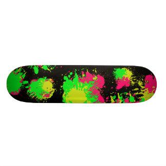 Splatter Skateboard