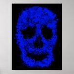 Splatter Skull (blue print)