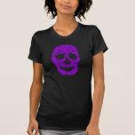 Splatter Skull (violet) T-shirts