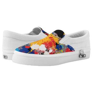 Splatter Slip-on Shoes