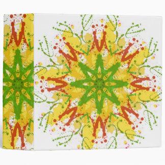 Splatter Snowflake. Binder