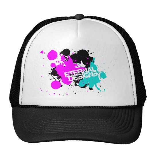 Splatter Trucker Hat