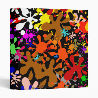 Splatter Wallpaper Vinyl Binder