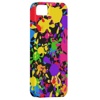 Splatter Wallpaper iPhone 5 Cases