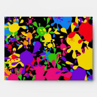 Splatter Wallpaper Envelope