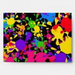 Splatter Wallpaper Envelopes