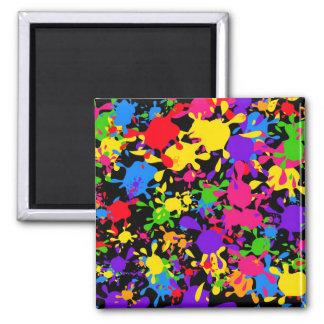 Splatter Wallpaper Magnet