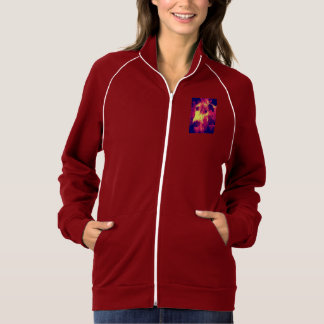 Splatter Womens Sporty Jacket
