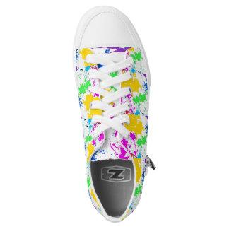 Splatter zipz Low Top Shoes