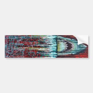 Splatterday/gran pegatina para el parachoques del  pegatina para auto