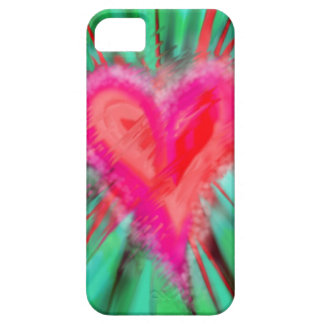 Splattered Heart iPhone 5 Case