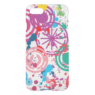 Splattered iPhone 7 Clearly™ Deflector Case