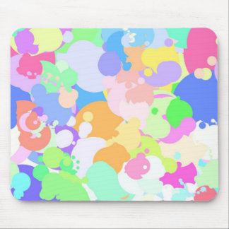 Splattered Paint Mousepad