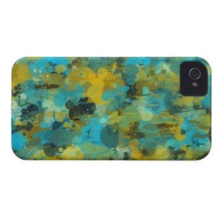 Splattered paint wallpaper Case-Mate iPhone 4 cases