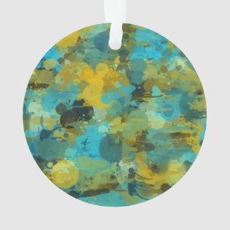 Splattered paint wallpaper ornament