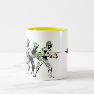 SplatterHo Two-Tone Coffee Mug