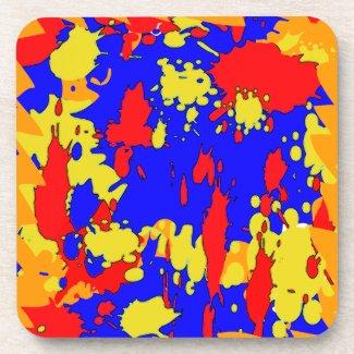 Splatters corkcoaster
