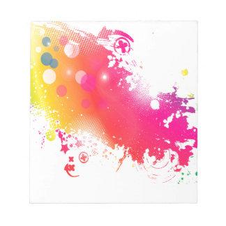 splatters notepad