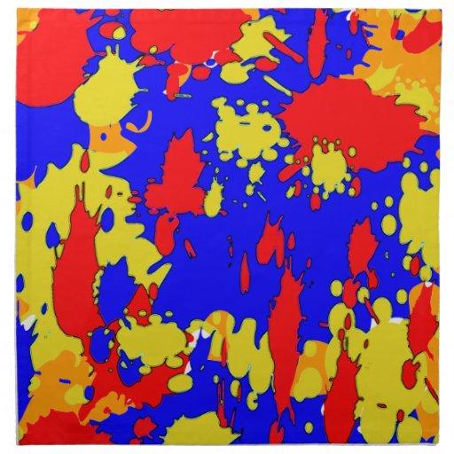 Splatters Printed Napkins
