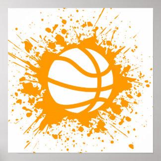 splatz del baloncesto póster