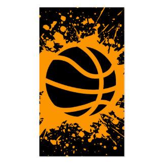 splatz del baloncesto tarjetas de visita