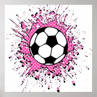 splatz del fútbol póster
