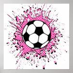 splatz del fútbol posters