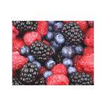 Splendid Berries Gallery Wrap Canvas