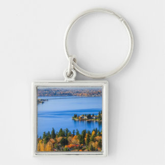 Splendid colors of fall at Bellevue Keychain