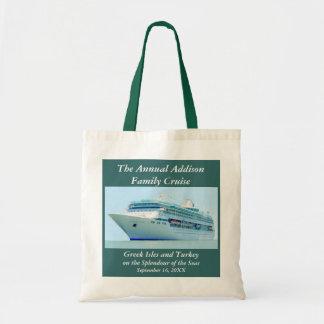 Splendid Cruise Ship Custom Bag