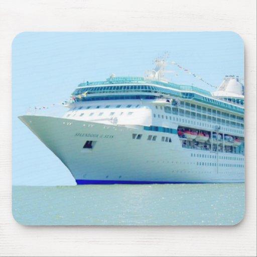 Splendid Cruise Ship Mousepad